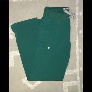 Figs Kade scrub pants Hunter Green
